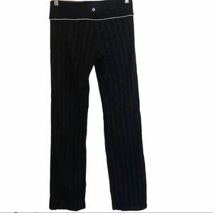 Lululemon pinstripe groove pants